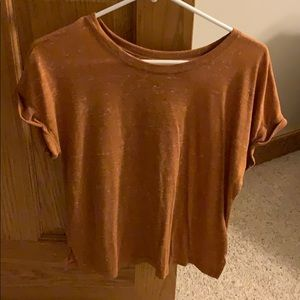 Mudd small orange t shirt